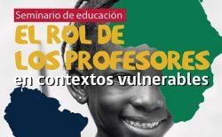 Afiche seminario educacion 24 mayo