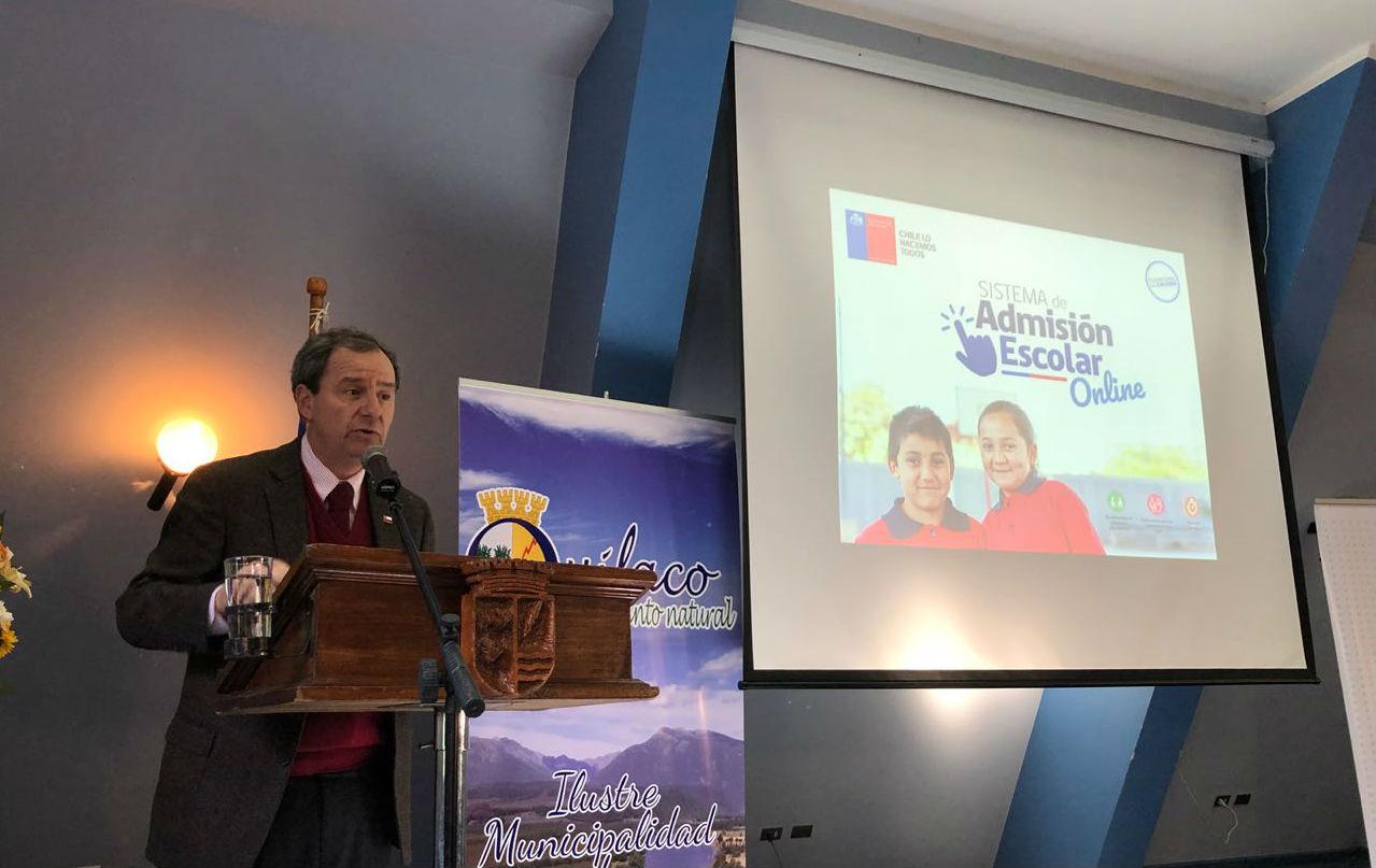 Ministro Varela Sistema de Admisión Escolar