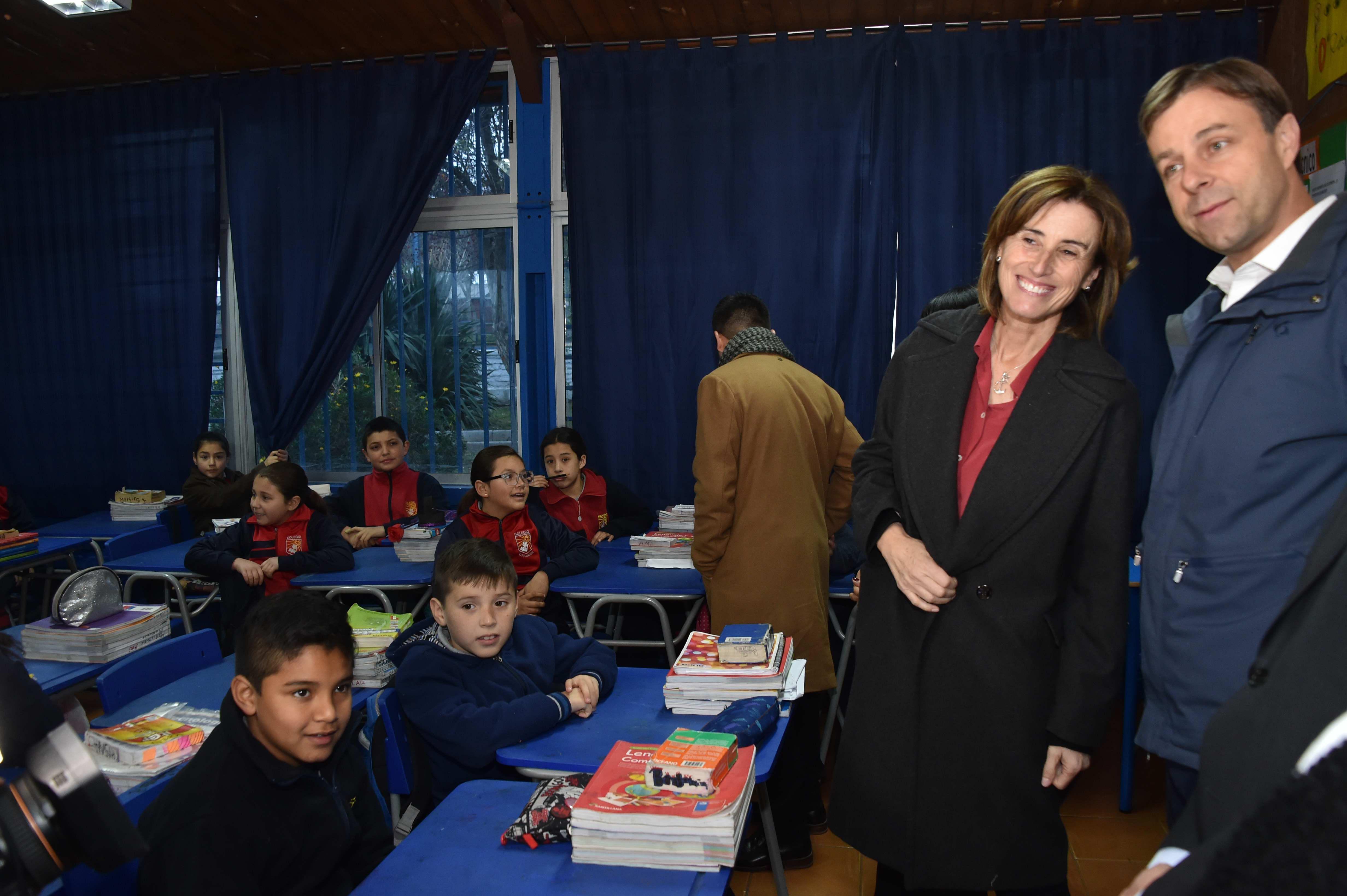 Ministra Marcela Cubillos primera actividad pública.