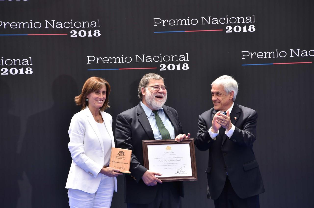 Premios Nacionales 2018 Fabián Jaksic
