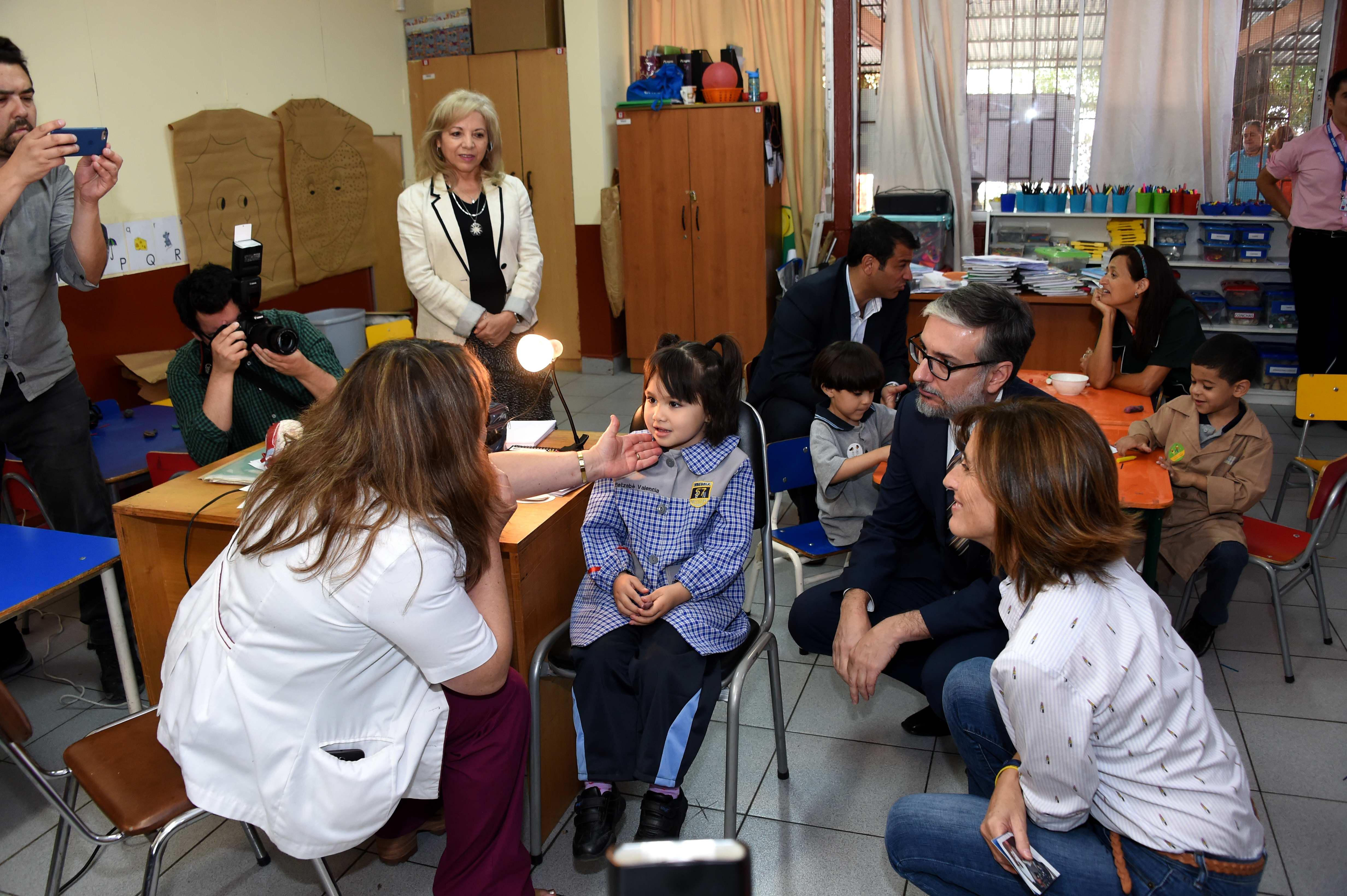 Junaeb da inicio al programa integral de bienestar estudiantil