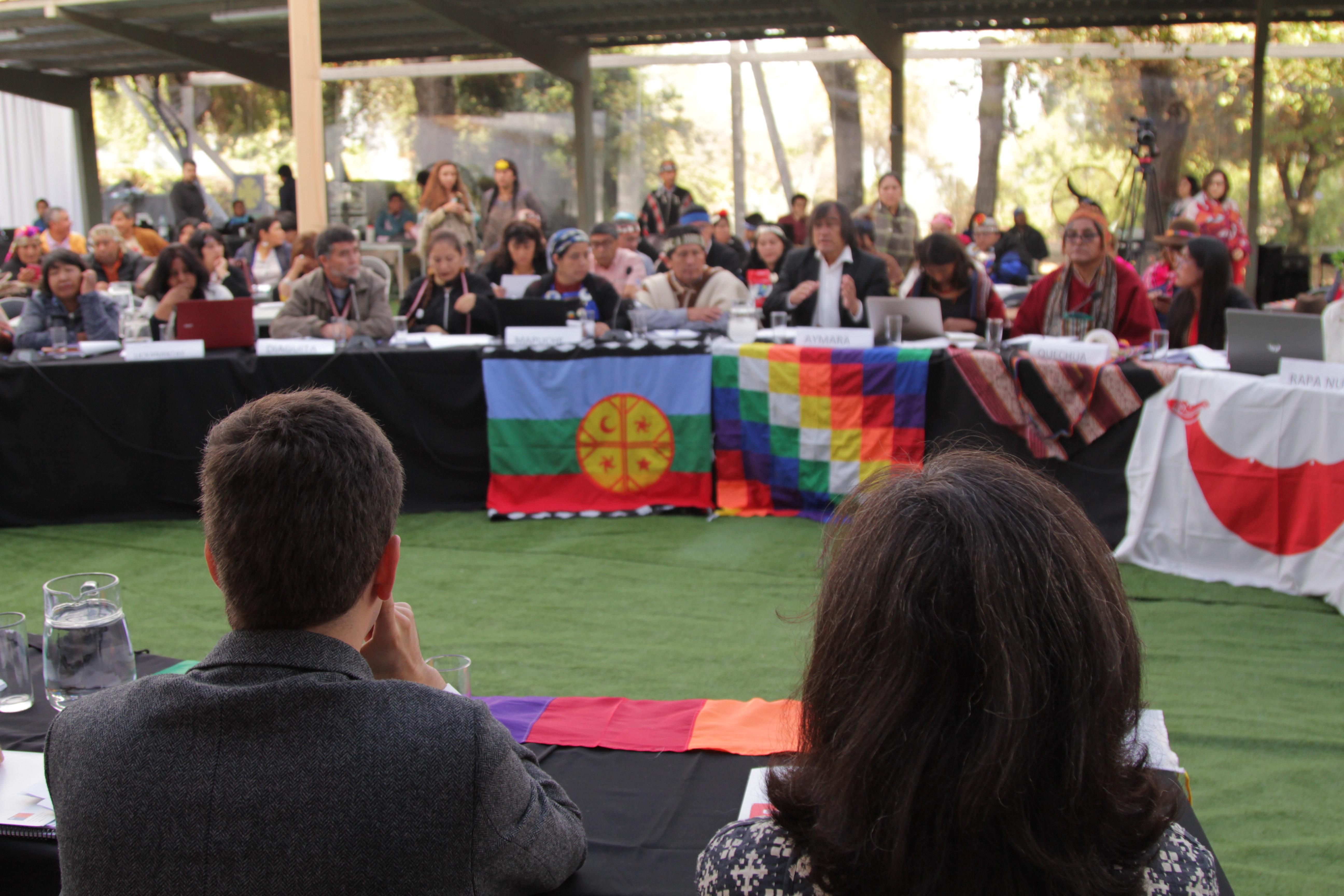 Encuentro de Diálogo Nacional de Consulta Indígena
