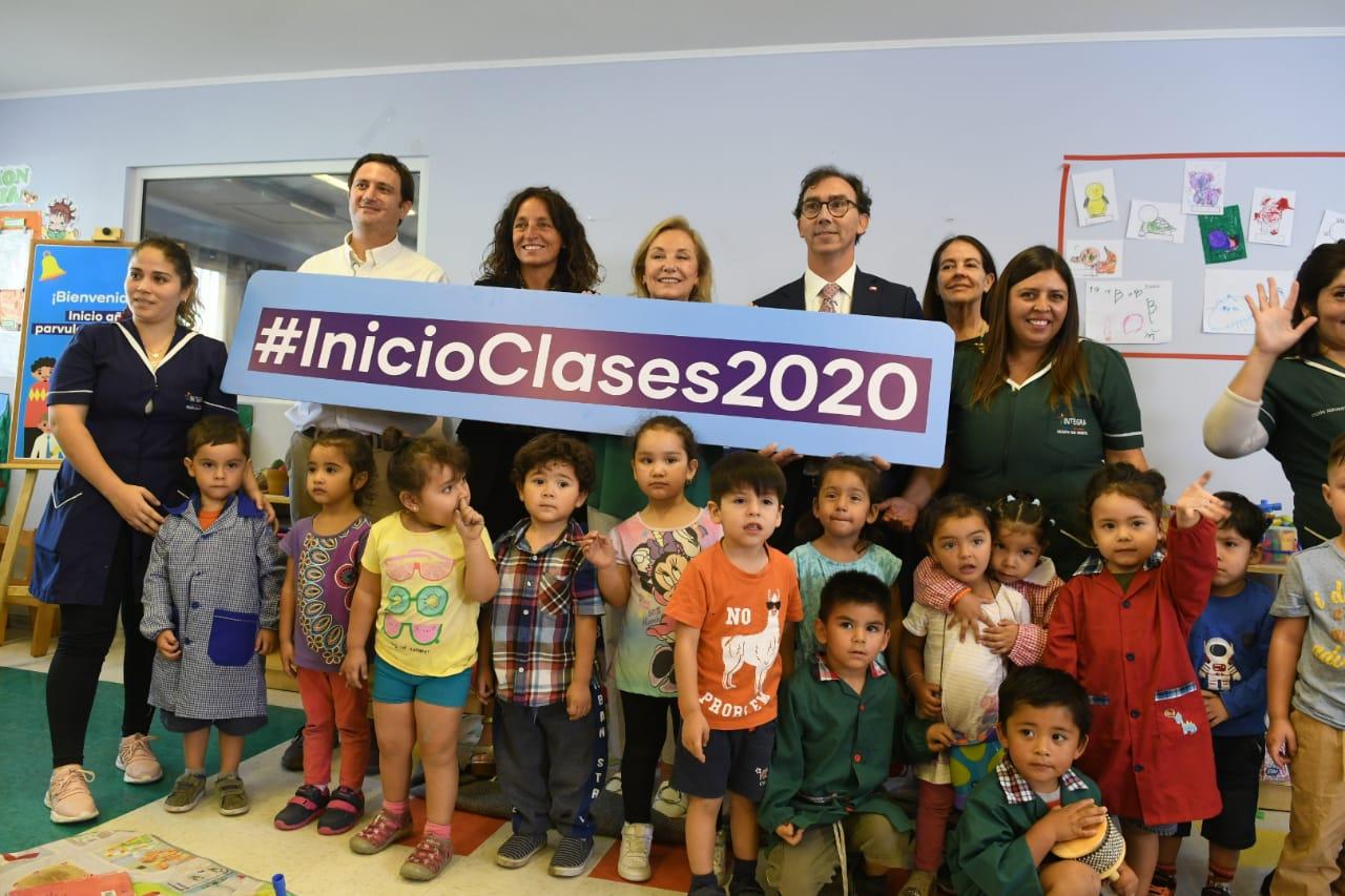 Inicio oficial al Año de Educación Parvularia y Escolar 2020