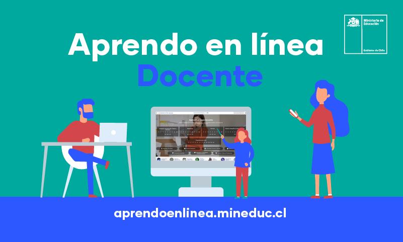 Mineduc lanza portal Aprendo En Línea Docente